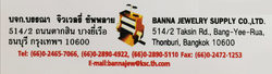 Banna Jewelry Supply Co., Ltd.